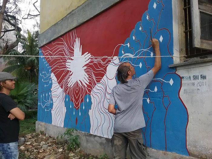 Cuban artist Yasser Castellanos