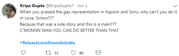 tweet-India can do better!