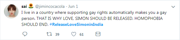 tweet-I live in a country where supporting gay rights automatically makes you a gay person.