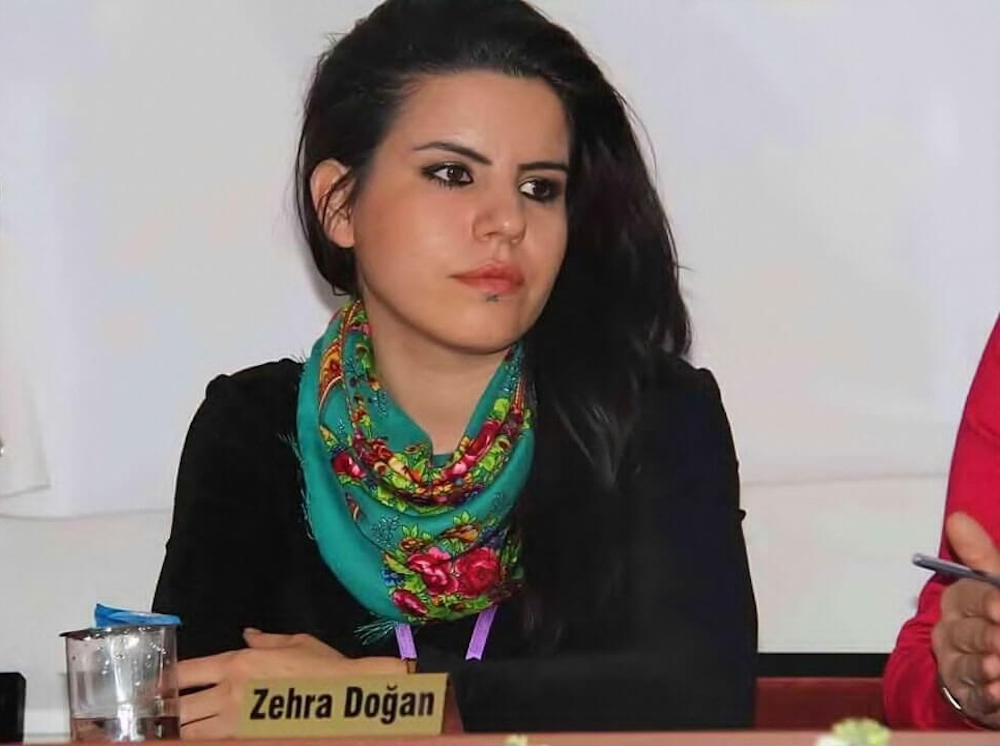 Kurdish artist and journalist Zehra Doğan