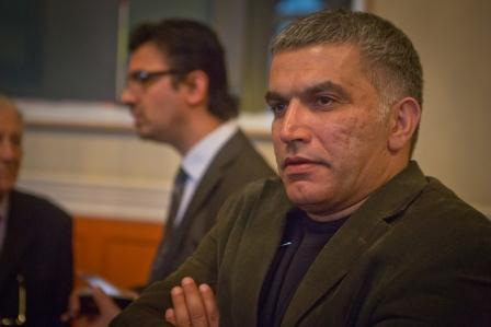 Nabeel Rajab at the 2012 Freedom of Expression Awards