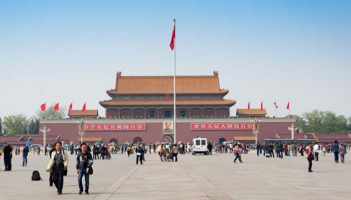 Tiananmen Square, 2013. Credit: xiquinhosilva/Flickr
