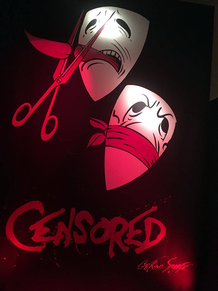 Censored by George Scarfe