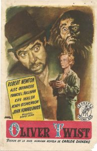 Poster for the 1948 film adaptation of Charles Dickens Oliver Twist (Photo: Ethan Edwards/Flickr)