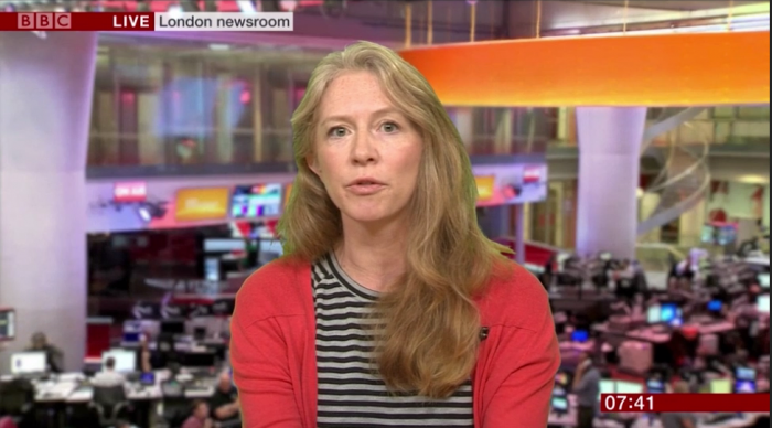 Jodie Ginsberg, hate speech, BBC Breakfast, 16/10/2018