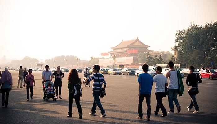 Tiananmen Square, Beijing, in 2009. Credit: Alexander Savin/Flickr