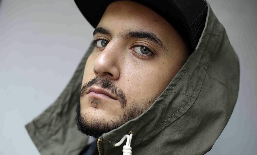 Rapper Khaled Harara (Photo: Joakim Roos)