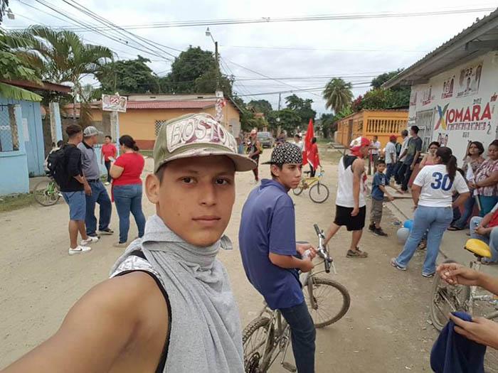 Honduran migrant Daniel Portillo