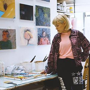Artist Celia Hempton