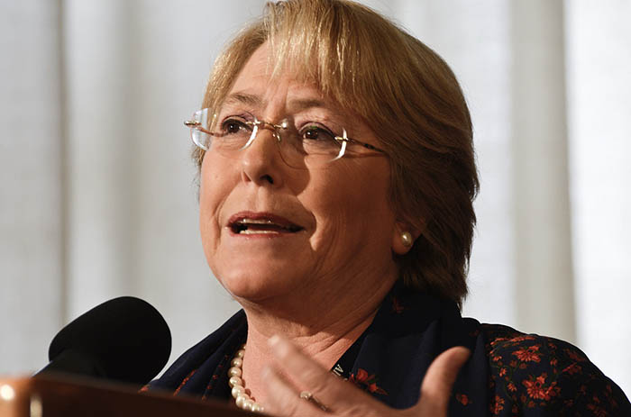 Michelle Bachelet, United Nations High Commissioner for Human Rights. Credit: UN Women / Flickr