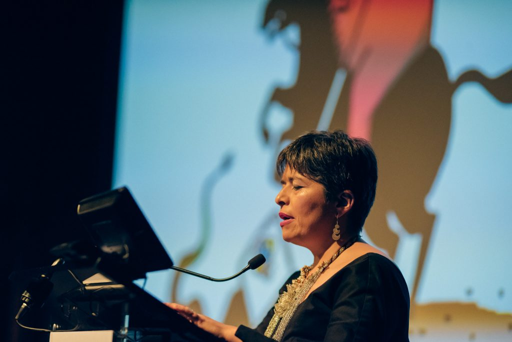 Carolina Botero Cabrera, executive director of Fundación Karisma (Photo: Elina Kansikas for Index on Censorship)