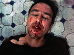 Hicham Mansouri was beaten up on September 24, 2014. (Photo: Ahmed Bensedik)