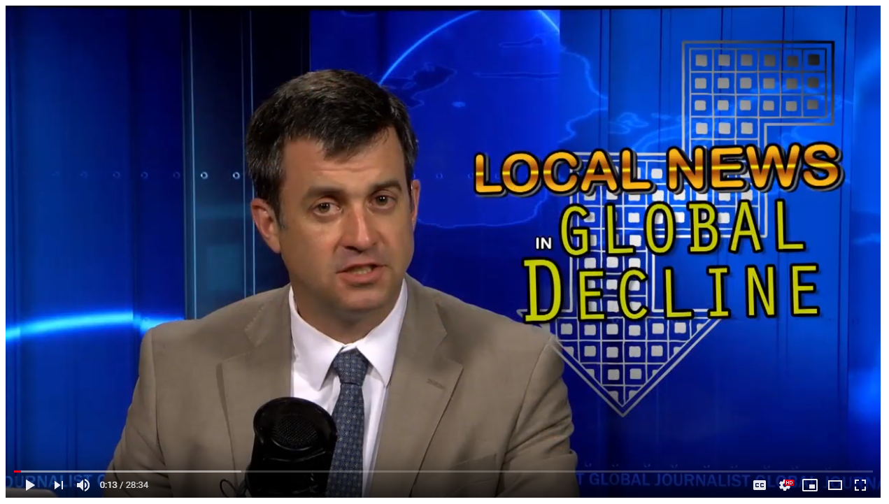 Global Journalist: Local news in global decline - Index on