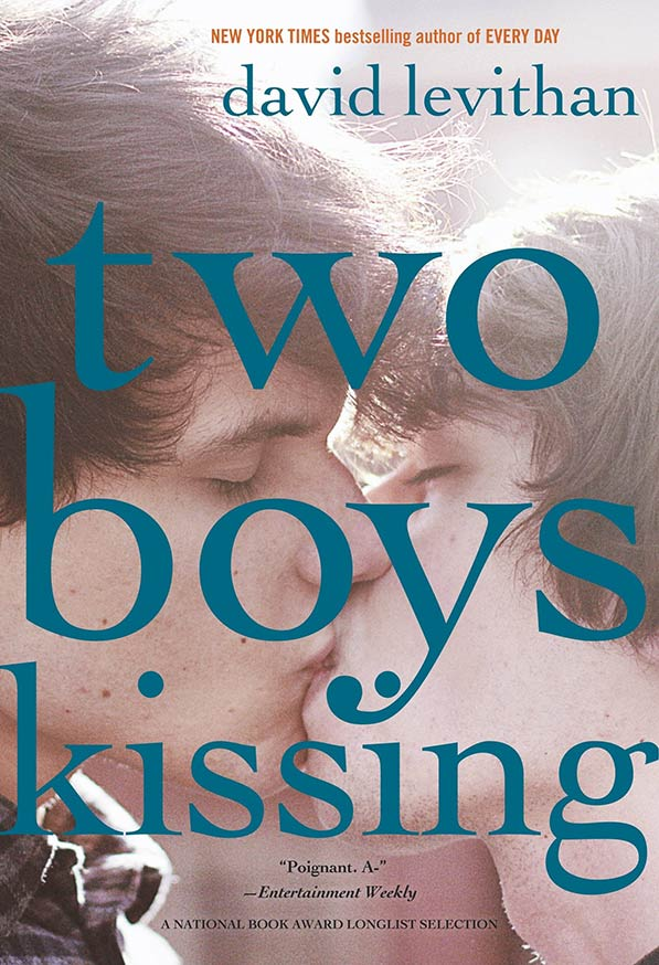 Two Boys Kissing by David Levithan was among the burned titles.
