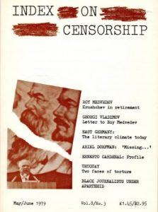 Russia, East Germany, South Africa: May 1979 Index on Censorship magazine