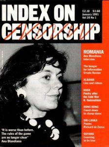 Romania, Albania, USSR: Index on Censorship magazine January 1991