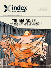 The Big Noise, the December 2019 issue of Index on Censorship magazine