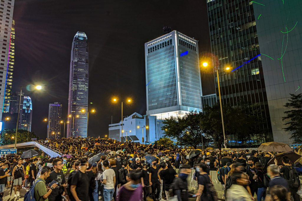 Hong Kong protests, photo: Studio Incendo/CC BY 2.0