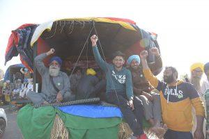 Farmers protesting/Randeep Maddoke/WikiCommons