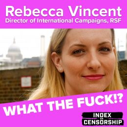 wtf rebecca vincent podcast art