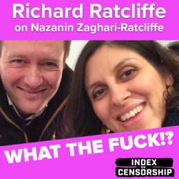 wtf podcast art richard ratcliffe nazanin