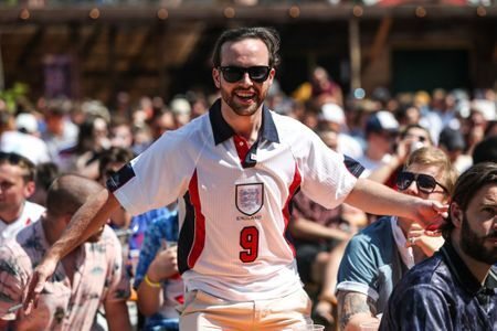 England fans during Euro 2020. Kieran Cleeves/PA Wire/PA Images